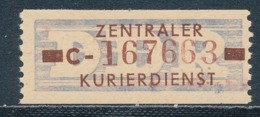 DDR Dienstmarken B 20 Kennbuchstabe C Original ** Mi. 150,- - Servizio