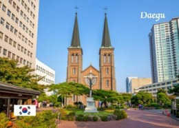 South Korea Daegu View Church New Postcard Südkorea AK - Korea (Zuid)
