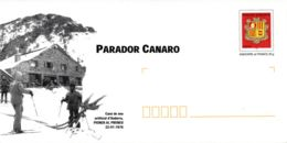 ANDORRE - Entier Postal Neuf - Parador Canaro - Canon à Neige - Stamped Stationery & Prêts-à-poster