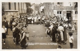 SAINT -JULIEN- METZ - 1933 Concours De Tartines Café Du Centre Ancienne église - Metz Campagne
