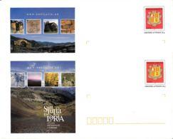ANDORRE - Lot De 2 Entiers Postaux Neufs - Sant Julià De Loria - Stamped Stationery & Prêts-à-poster