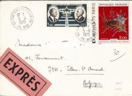 FRANCE - 1975 - Lettre Par Exprès De Font-Romeu Pour La Belgique - Francia