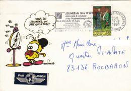 FRANCE - Réunion - 1991 - Le Piaf De Dan Salel - Conduite Accompagnée - Sécurité Routière - France