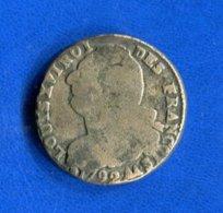 2  Sols  1792  Aa  Metz - 1789-1795 Period: Revolution