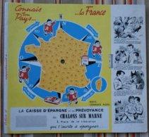 Ancien Protege Cahier A Systeme 51 CHALONS SUR MARNE Caisse D'Eparne Et De Prevoyance BD  L' Ecureuil - Protège-cahiers