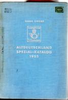 Catalogue Hans Grobe  : Altdeutschland Spezial Katalog 1953 - Allemagne