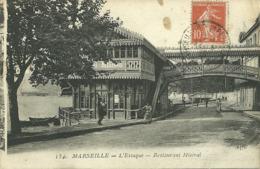 13  MARSEILLE - L' ESTAQUE - RESTAURANT MISTRAL (ref 6044) - L'Estaque