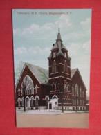 Tabernacle M.E. Church  Binghamton  New York >   Ref 3620 - NY - New York