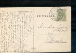 Heerenveen Station 1 - Langebalk - 1918 - Storia Postale
