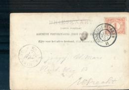 Maastricht Aken - Grootrond - 1901 - Marcophilie