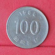 KOREA 100 WON 1988 -    KM# 35,2 - (Nº30951) - Korea, South