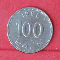 KOREA 100 WON 1988 -    KM# 35,2 - (Nº30951) - Korea (Zuid)