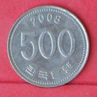 KOREA 500 WON 2008 -    KM# 27 - (Nº30952) - Korea (Zuid)