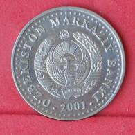 UZBEKISTAN 50 SOM 2001 -    KM# 15 - (Nº30953) - Uzbenisktán