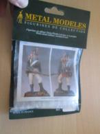 Figurine Métal TOP QUALITE à Monter Et Peindre METAL MODELES 54mm, FLANQUEUR GRENADIER 1813 Vaut 23 € En Magasin - Small Figures