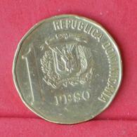 DOMINICAN  1 PESO 1991 -    KM# 80,1 - (Nº30954) - Dominicaine