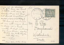 Westerbrok - Bergen Aan Zee - Langebalk - 1912 - Storia Postale