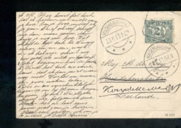 Hoedekenskerke - Langebalk - 1915 - Marcophilie