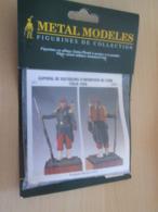 Figurine Métal TOP QUALITE à Monter Et Peindre METAL MODELES 54mm, VOLTIGEUR D'INFANTERIE 1859 Vaut 23€ En Magasin1859 - Small Figures