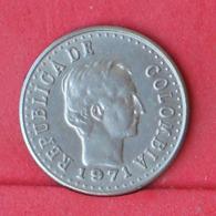 COLOMBIA 20 CENTAVOS 1971 -    KM# 245 - (Nº30960) - Kolumbien
