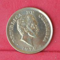 COLOMBIA 25 CENTAVOS 1979 -    KM# 246,2 - (Nº30962) - Kolumbien