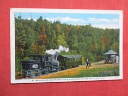 White Mountains  Cog Railway Station   New Hampshire > White Mountains   Ref 3621 - White Mountains