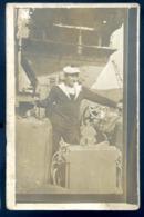 Cpa  Carte Photo Prise Sur Le Croiseur Tourville Aux Iles Marquises Port De Patouïva En 1929  --- Environs Tahiti  LZ115 - Tahiti