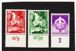 RAD327 DEUTSCHES REICH 1942  MICHL 816/18 ** Postfrisch Siehe ABBILDUNG - Deutschland
