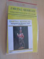 Figurine Métal TOP QUALITE à Monter Et Peindre 1/2 RONDE BOSSE 80mm épuisé Chez Le Fabriquant CHASSEURS 1808 - Figurines