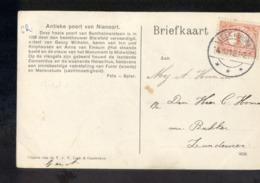 Leek - Langebalk - 1912 - Marcofilia