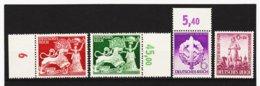 RAD329 DEUTSCHES REICH 1942  MICHL 816/19 ** Postfrisch Siehe ABBILDUNG - Unused Stamps