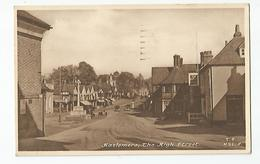 Angleterre Haslemere , The High Street , The Kings Arms Cachet Sussex Crowborough 1955 - England