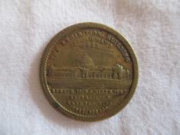 Token Jeton The Exhibition Building London 1862 - Jetons & Médailles