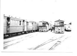 O.L.V. Tielt - Station Met Stoomtrams. - Belgique