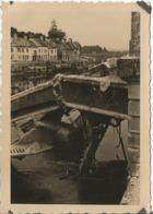 PONT-ST-MAXENCE (OISE ) 1940 Photo Werhmacht WW2 ,  Pont Sur L'Oise . - 1939-45
