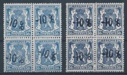 724 K  **  En Carré 2 Tons Dif.   Cote 36.00 - 1946 -10%