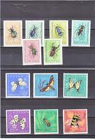 POLOGNE 1962 INSECTES PAPILLONS Yvert 1140-1151 NEUF** MNH - Nuevos