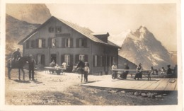 CPA  Suisse, GRINDELWALD, Hotel Grosse Scheidegg, Carte Photo.1924 - BE Berne