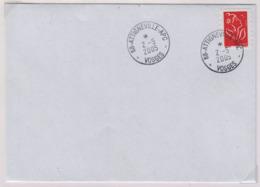 ATTIGNEVILLE - APC  (Vosges) 2 Mai 2005  APC = Agence Postale Communale - Marcophilie (Lettres)