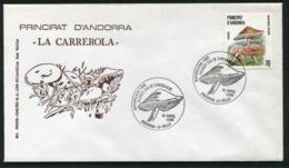 SALE  Andorra Mi 187 Mushroom FDC - Pilze