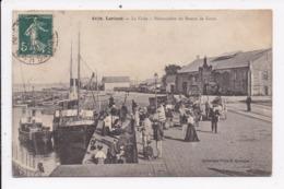 CP 56 LORIENT La Criée Debarcadere Du Bateau De Groix - Lorient