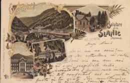 Old Postcard Slanic Litho - Romania