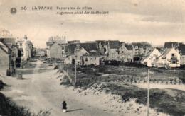 50.La Panne. Panorama De Villas .Algemeen Zicht Der Lusthuisen. - De Panne