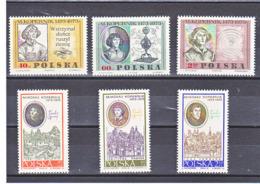 POLOGNE 1969-1970 COPERNIC Yvert 1775-1777 + 1863-1865 NEUF** MNH - 1944-.... Republic