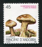 SALE  Andorra 1990 Mi 216 Mushroom MNH - Pilze