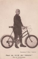 CPA 84 PERNES / CARPENTRAS VELOCCIO PERE DU CYCLOTOURISME 1852 1930 - Zonder Classificatie