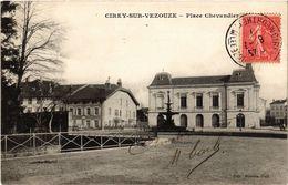CPA CIREY Sur VEZOUZE - Place Chevandier (276815) - Cirey Sur Vezouze