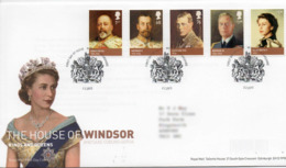 GREAT BRITAIN 2012 The House Of Windsor FDC - 2011-... Decimal Issues