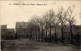 CPA MARLY - Place De La Mairie - Bureau De Poste (512982) - France