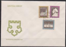 DDR FDC1967 Nr.1317 - 1319  450.Jahrestag Des Thesenanschlags An Der Schlosskirche ( D 3729 ) Günstige Verandkosten - [6] Democratic Republic